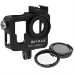 PULUZ - Hero 4 Aluminum Cage (Sort)